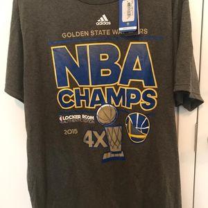 Adidas mens t shirt warriors championship